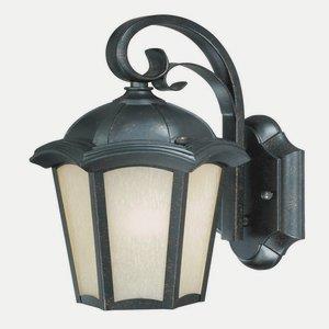 Chloe - Three Light Outdoor Wall Lantern
