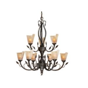 Capri - Nine Light Chandelier