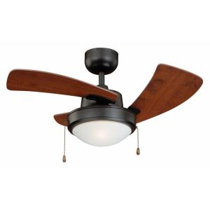 Wolcott - 36 Inch Ceiling Fan with Light Kit