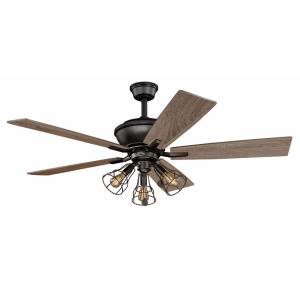 Clybourn - 52 Inch Ceiling Fan with Light Kit