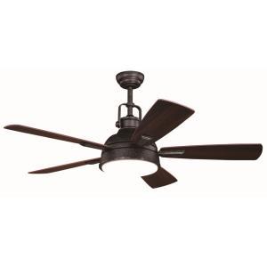 Walton - 52 Inch Ceiling Fan with Light Kit
