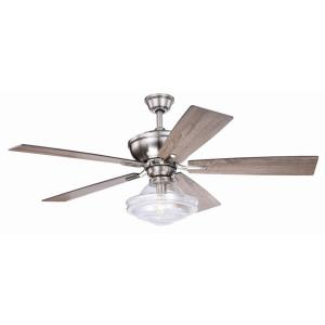Huntley-Ceiling Fan with Light Kit-52 Inches Wide by 21.7 Inches High