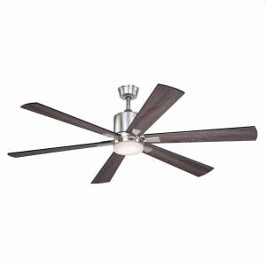 Wheelock 1-Light Ceiling Fan in Contemporary Style 15.75 Inches Tall and 60 Inches Wide