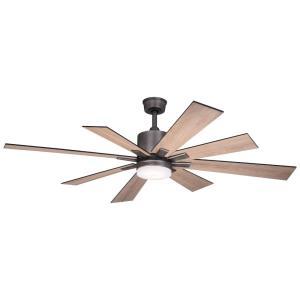 Crawford - 60 Inch 8 Blade Ceiling Fan