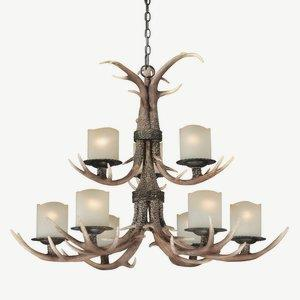 Yoho - Nine Light Chandelier