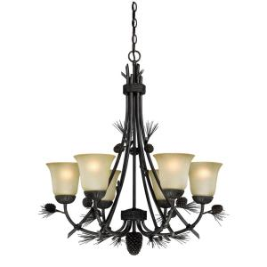 Sierra - Six Light Chandelier