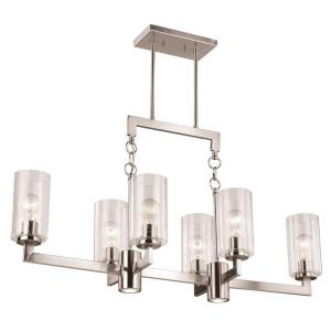 Addison - Eight Light Linear Chandelier