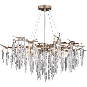 Rainier-Five Light Chandelier in Traditional Style-32 Inches Wide by 18.5 Inches High
