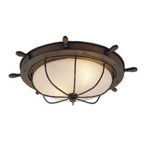Nautical - 15 Inch Indoor/Outdoor Ceiling Mount