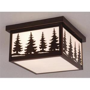 Yellowstone-Outdoor Ceiling Mount-11.5 Inches Wide by 6.5 Inches High