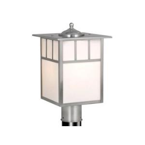 Mission - 9 Inch Outdoor Post Lantern