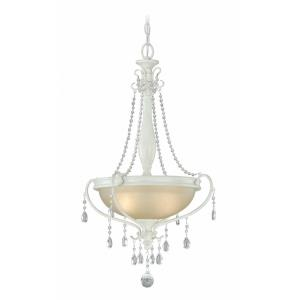 Bristol 2-Light Pendant in Traditional and Bowl Style 28 Inches Tall and 18.5 Inches Wide
