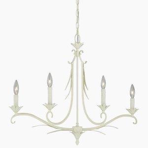 Austen - Four Light Linear Chandelier