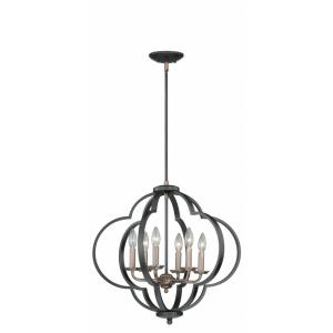 Amory - Six Light Pendant