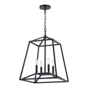 Hayes-4 Light Pendant-16 Inches Wide by 21.25 Inches High
