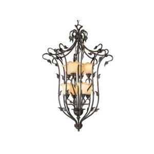 Vine - Eight Light Foyer Pendant
