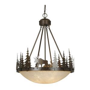 Yellowstone - Four Light Pendant