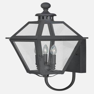 Nottingham - Three Light Outdoor Wall Lantern