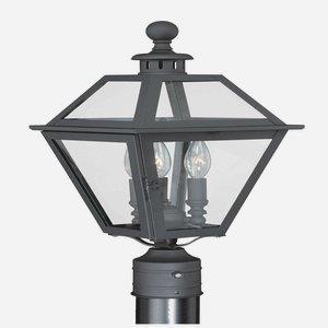 Nottingham - Three Light Outdoor Post Lantern