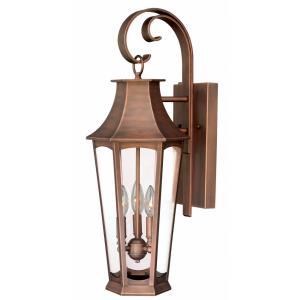 Preston - Three Light Outdoor Wall Lantern
