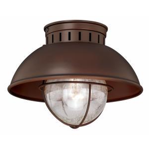 Harwich - One Light Outdoor Flush Mount