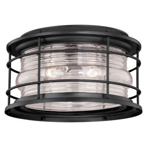 Hyannis - Two Light Outdoor Flush Mount
