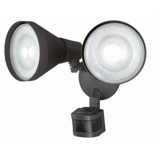 Gamma - Two Light Outdoor Motion Sensor Security Light