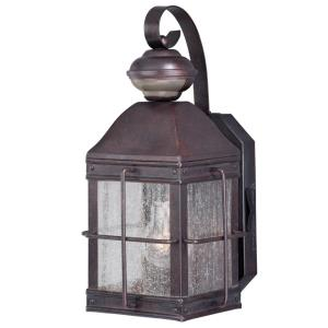 Revere Dualux - 7 Inch One Light Outdoor Wall Lantern