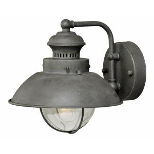 Harwich 1-Light Outdoor Wall Sconce in Coastal and Barn Style 8 Inches Tall and 8 Inches Wide