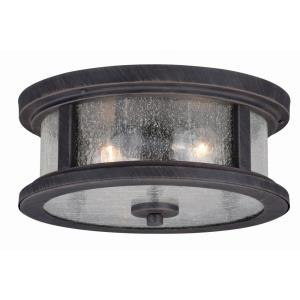 Cumberland - Two Light Outdoor Flush Mount