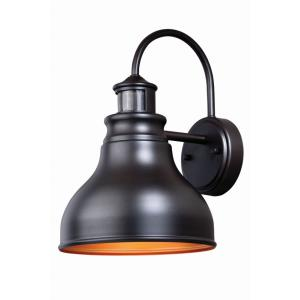 "Delano Dualux - 9"" One Light Outdoor Wall Lantern"
