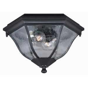 Aberdeen - Two Light Outdoor Flush Mount