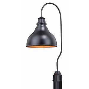 Delano - One Light Outdoor Post Lantern