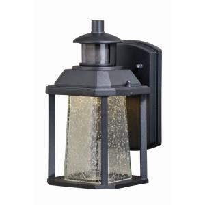 Freeport 1-Light Outdoor Motion Sensor in Transitional and Rectangular Style 10.25 Inches Tall and 5.5 Inches Wide