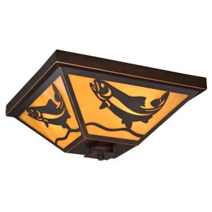 Missoula - Three Light Flush Mount
