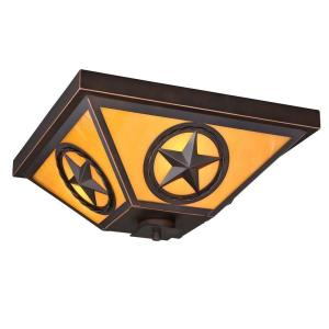 Ranger - Three Light Flush Mount
