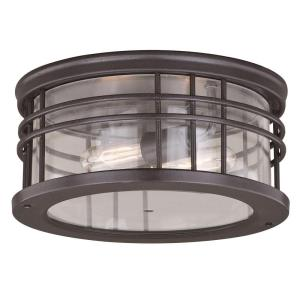 Wrightwood - Two Light Outdoor Flush Mount