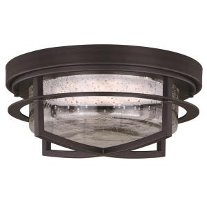 Logan - 13 Inch 12W 1 LED Outdoor Flush Mount