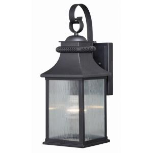 Cambridge 1-Light Outdoor Wall Sconce in Traditional and Lantern Style 16.25 Inches Tall and 6 Inches Wide