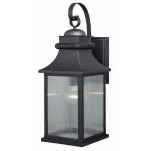 Cambridge 1-Light Outdoor Wall Sconce in Traditional and Lantern Style 21 Inch Tall and 8 Inches Wide