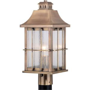 Quincy - One Light Outdoor Post Lantern