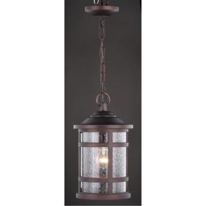 Southport 1-Light Outdoor Pendant in Transitional and Cylinder Style 14.75 Inches Tall and 8.5 Inches Wide