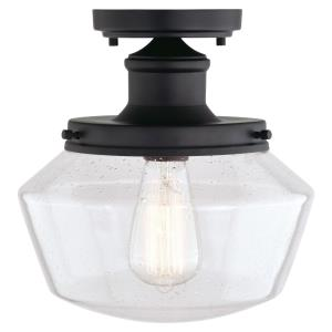 Collins - 1 Light Outdoor Flush Mount