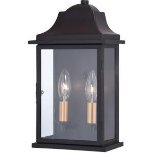 Bristol - 2 Light Outdoor Wall Lantern