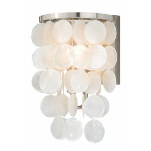 Elsa 1-Light Bathroom Light in Transitional Style 10.75 Inches Tall and 6.5 Inches Wide
