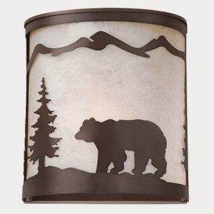 Bozeman-One Light Wall Sconce-5 Inches Wide by 11 Inches High