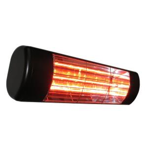 19 Inch 1500W Single Cassette Outdoor Infrared Heater with Gold Lamp