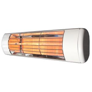 "19"" 1500W Single Cassette Outdoor Infrared Heater with Frosted Lamp"