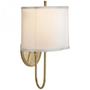 Simple Scallop - 1 Light Scallop Wall Sconce