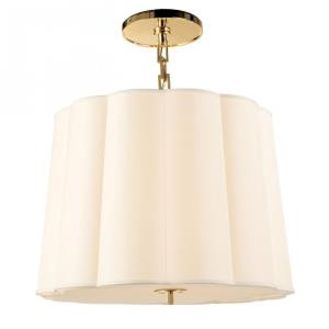 Simple Scallop - 5 Light Large Chandelier